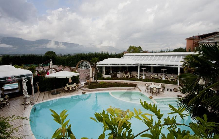 Esterno Hotel Piscina