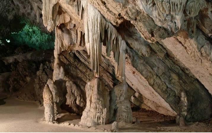 Grotte di Pertosa nel Cilento