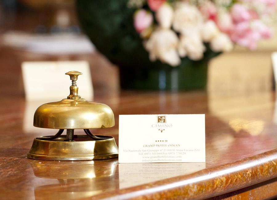 Reception Grand Hotel Osman