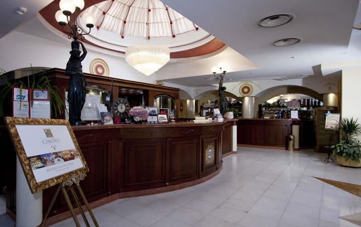 Ingresso e reception Hotel