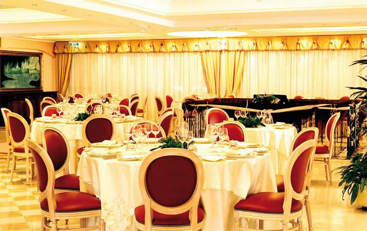 Sala elegante per cerimonie